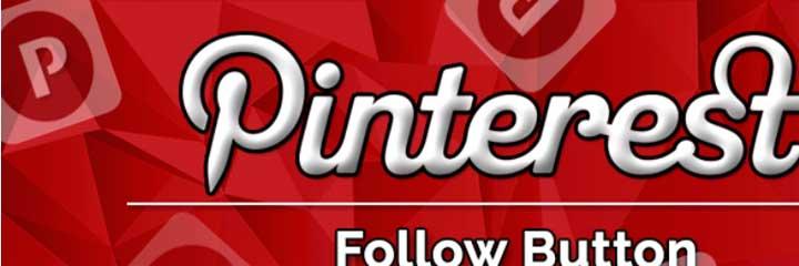 Add Pinterest Follow Button