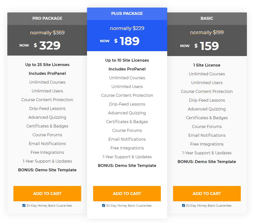 Leardash Pricing