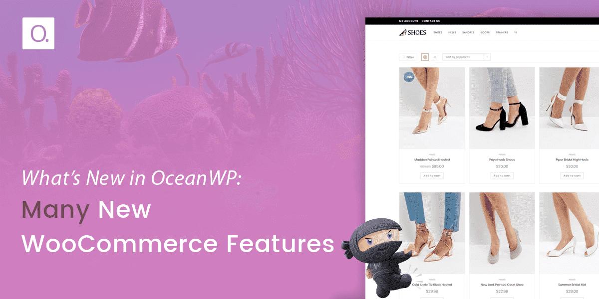 Woocommerce Features Oceanwp