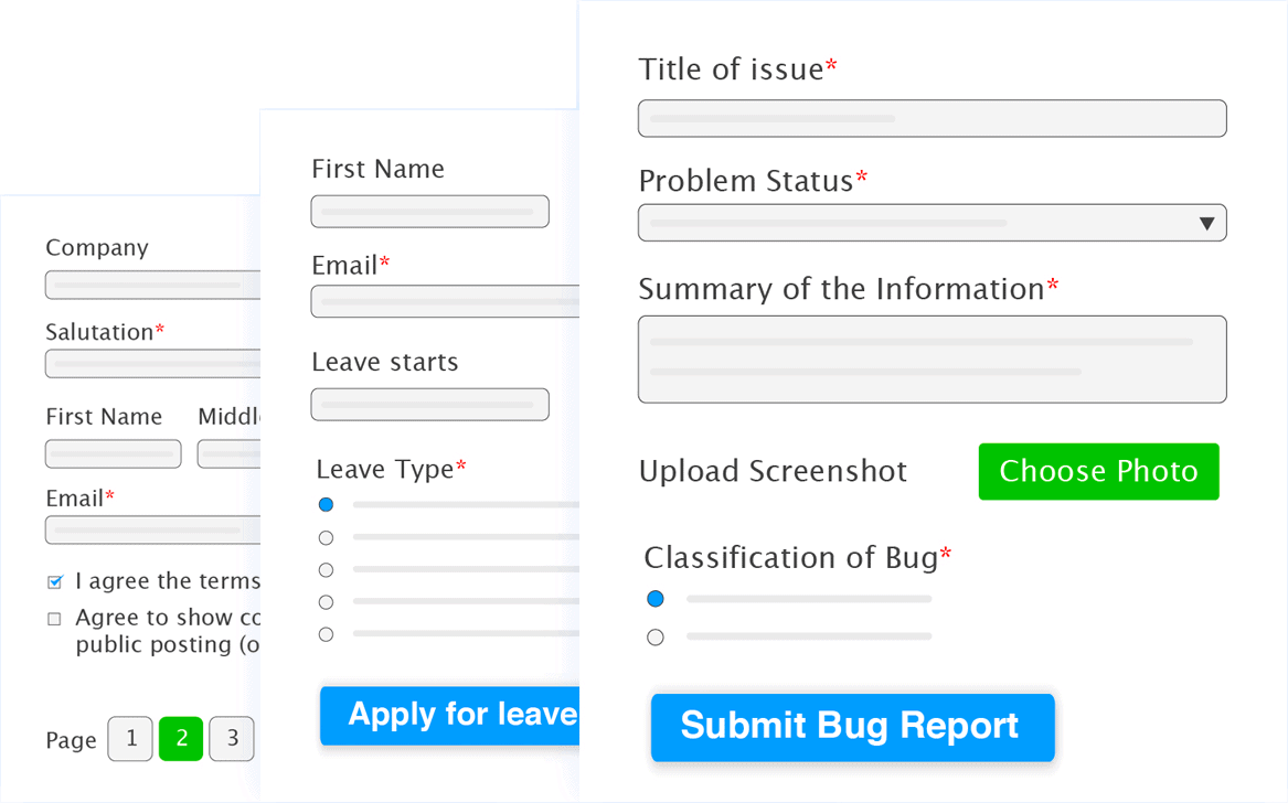 Demo Forms