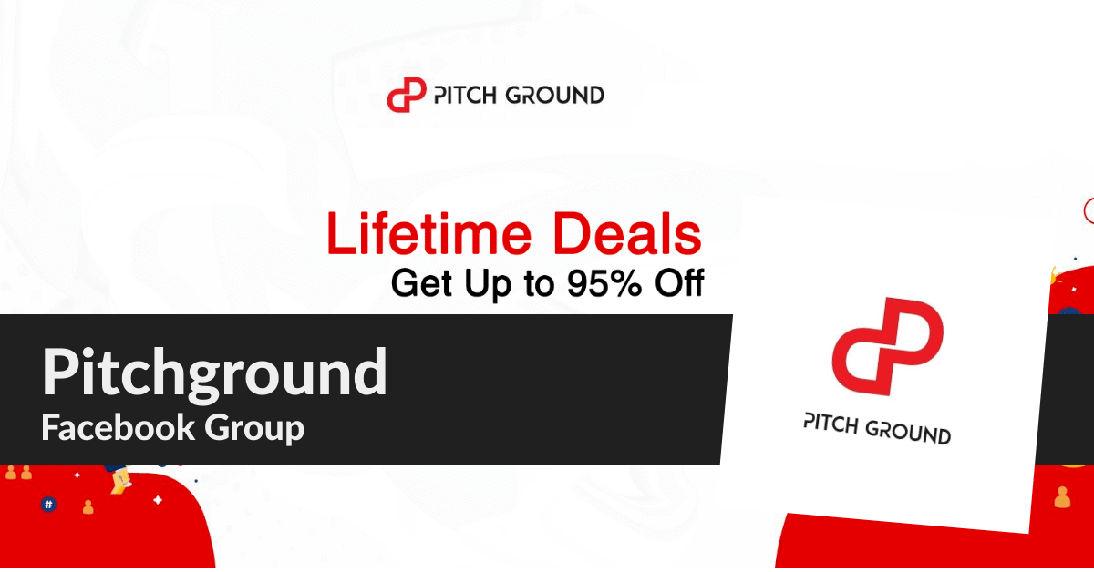 pitchground facebook group deals and discounts