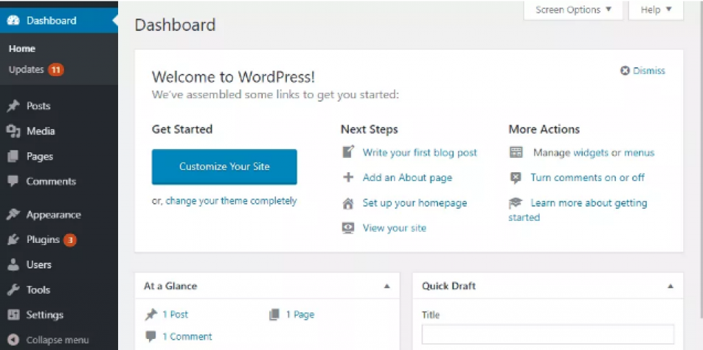 wp reset wordpress