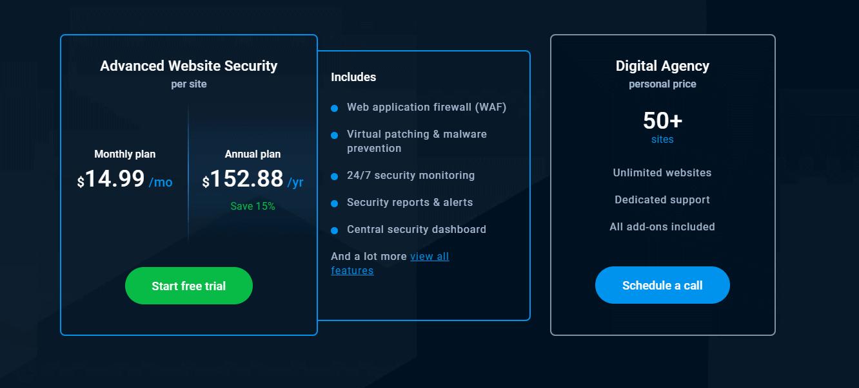 webarx pricing