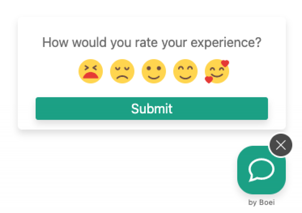 feedback form no comments