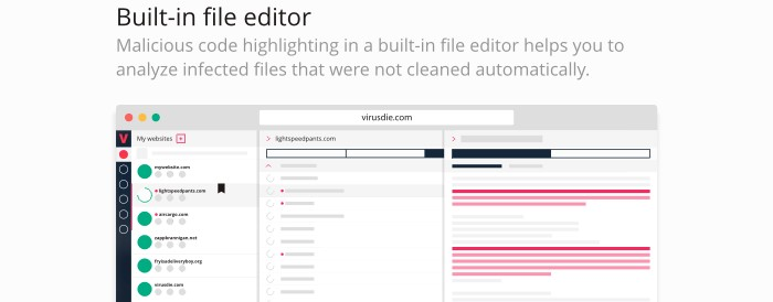 vd built in file editor