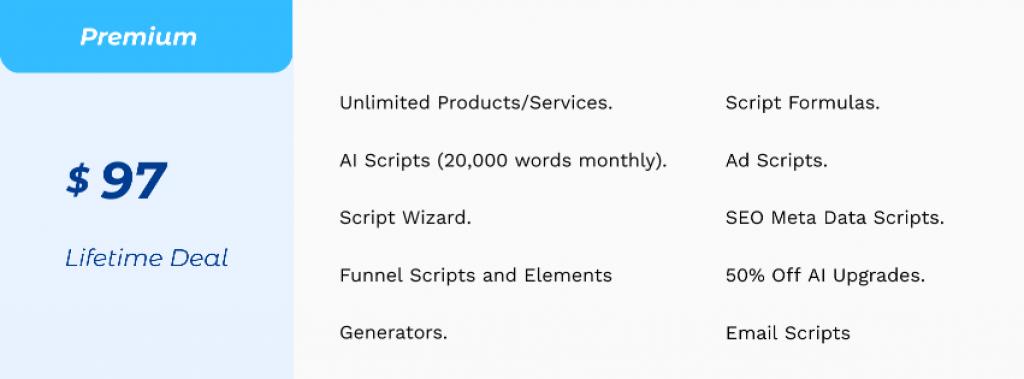 LeadScript Pricing