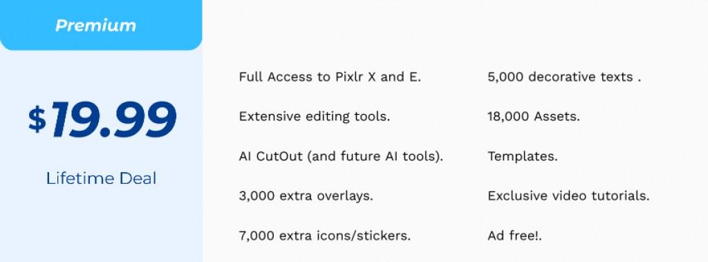 pixlr Pricing