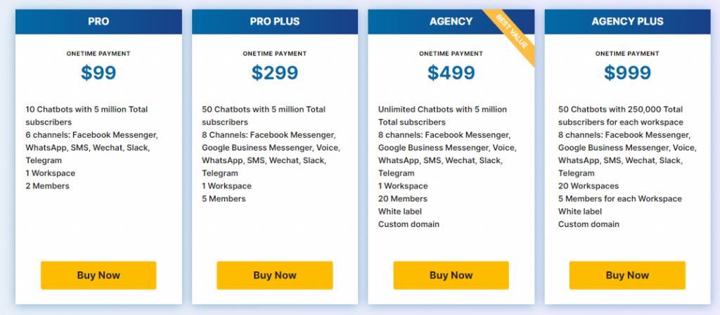 uchat Pricing