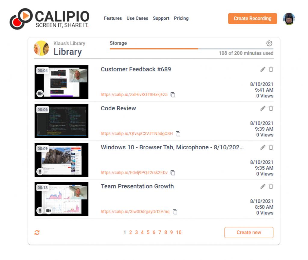 Calipio Library
