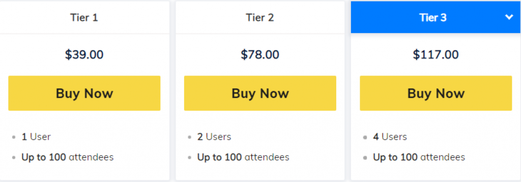 3veta pricing