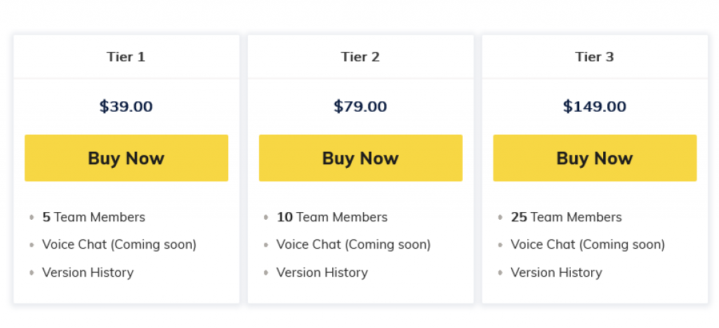 Weje Pricing
