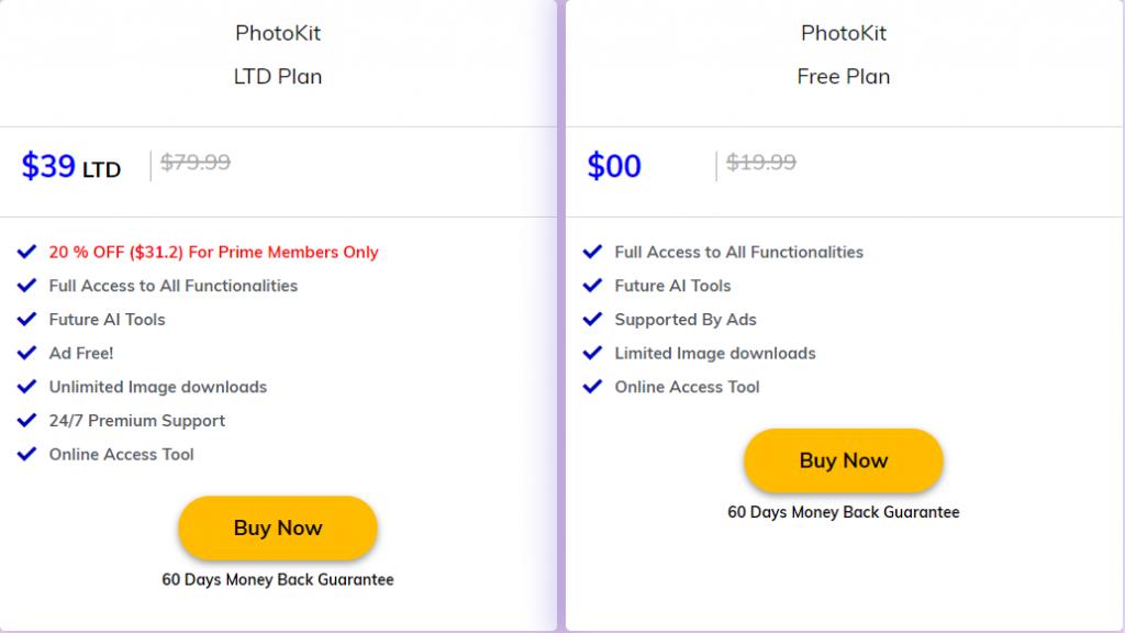 photokit pricing