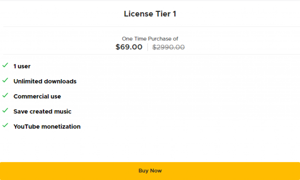 Soundraw pricing